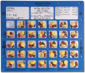 image of pill card